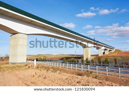 Bridge above the highway
