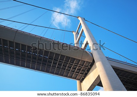 bridge at day - stock photo