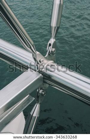 Bridge Detail - stock photo