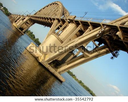 Bridge From Past - stock photo