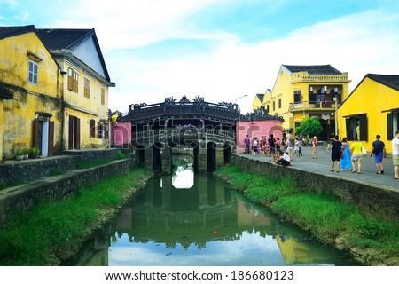 Bridge pagoda (CHUA CAU), Hoi An ancient town, Da nang, Vietnam
