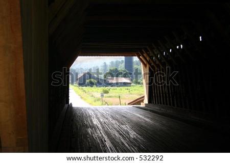 Bridge Portal - stock photo