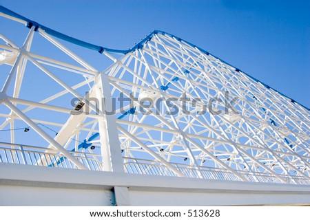 bridge texture - stock photo