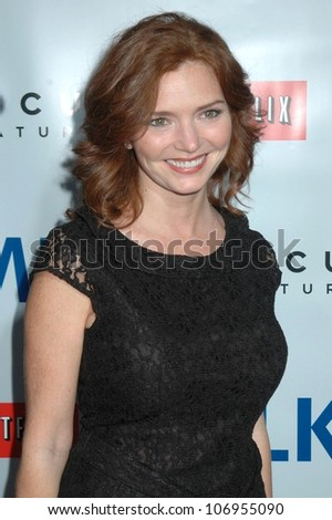 Bridget Brno  at the Los Angeles Premiere of 'Milk'. Academy of Motion Pictures Arts And Sciences, Beverly Hills, CA. 11-13-08