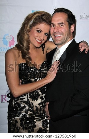 Bridgetta Tomarchio, Adam Teipel at the Pre-Oscar Beauty and Style Lounge, W Hotel, Westwood, CA 02-21-13