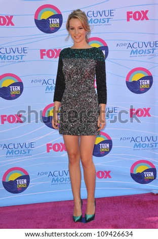 Bridgit Mendler at the 2012 Teen Choice Awards at the Gibson Amphitheatre, Universal City. July 23, 2012  Los Angeles, CA Picture: Paul Smith / Featureflash