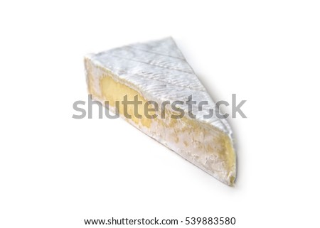 Brie, french cheese from cow's milk