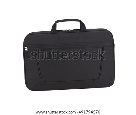 Brief- Bag isolated on white background