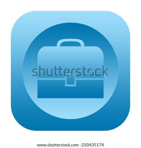 Briefcase icon - stock photo