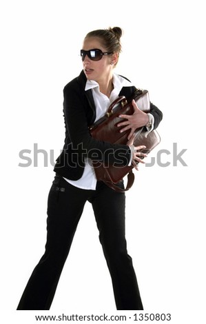 Briefcase in Hand of Businessman