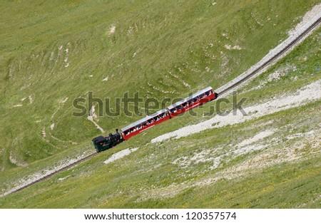 Brienz Rothorn Bahn - stock photo
