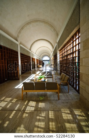 Brigham Young University Jerusalem Center - The Jerusalem Mormon College - stock photo