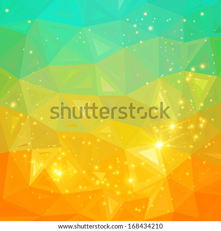 Bright  abstract background. - stock photo