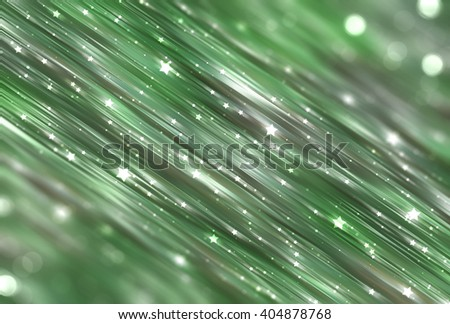 Bright abstract blue and green background with glitter