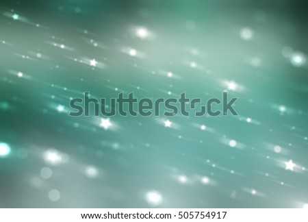 Bright abstract blue and green background with glitter. illustration beautiful.