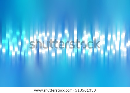 Bright abstract blue background with glitter. illustration beautiful.
