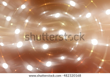 Bright abstract brown background with glitter. illustration beautiful.