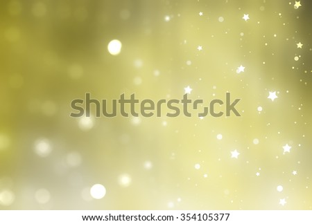 Bright abstract golden background with glitter