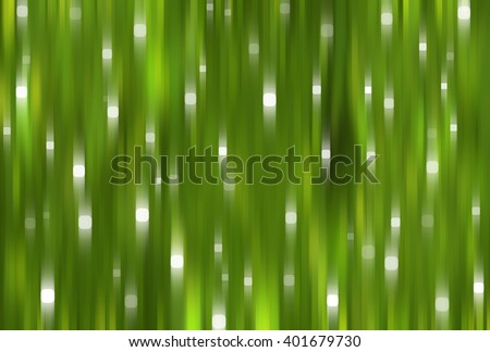 Bright abstract green background with glitter
