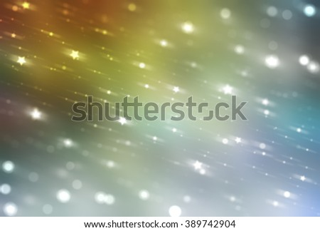Bright abstract multicolored background with glitter