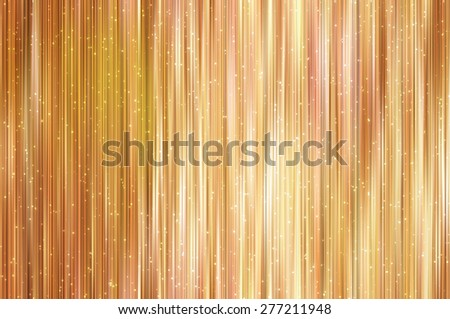 Bright abstract orange background with glitter - stock photo