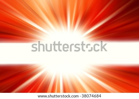 Bright abstract red background. Copy space