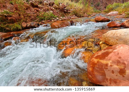 Bright Angel Creek in Grand Canyon National Park