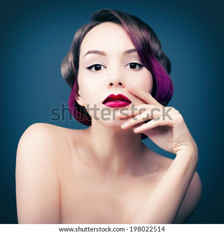 bright appearance - stock photo