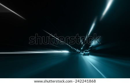 Bright background of the car dipped  - stock photo