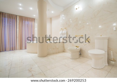 Bright bathroom