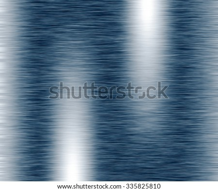 Bright blue background abstract with reflection