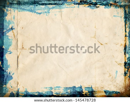 Bright blue textured background. perfect for design, very high resolution. - stock photo