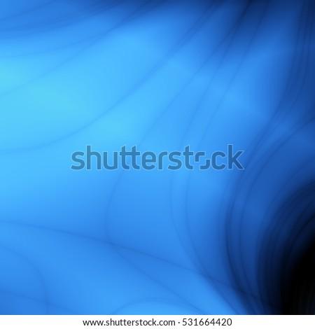 Bright Blue Wallpaper Modern Abstract Backdrop Design