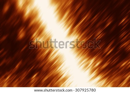 Bright brown background with reflection