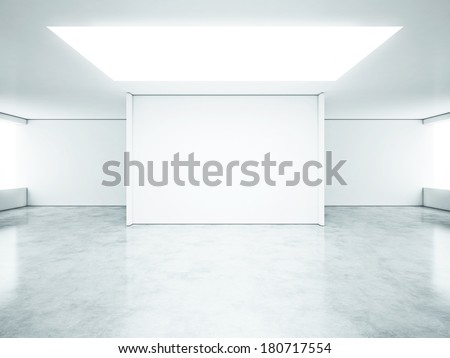 Bright clear office - stock photo