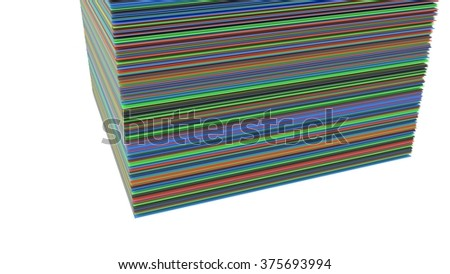 Bright color background - stock photo