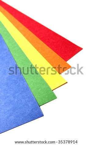 Bright Color Craft paper