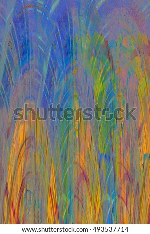 bright color wall background. Modern futuristic painted wall for backdrop or wallpaper with copy space. Close up image. 3:2 aspect ratio