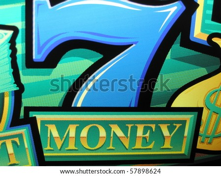 bright colored sign showing that sevens mean money