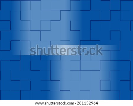 Bright colorful background abstract with reflection pattern