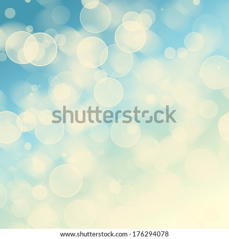 bright colorful circles with bokeh background