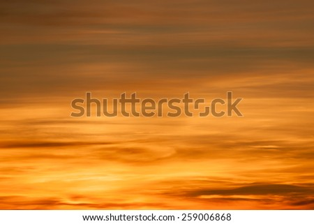 Bright colors in a beautiful sky background - stock photo