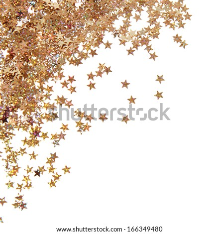 Bright confetti - stock photo