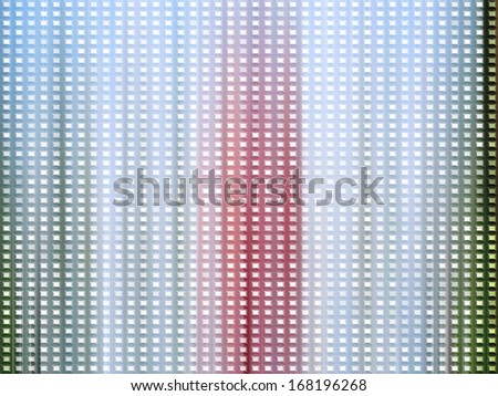 Bright digital background with squares - stock photo