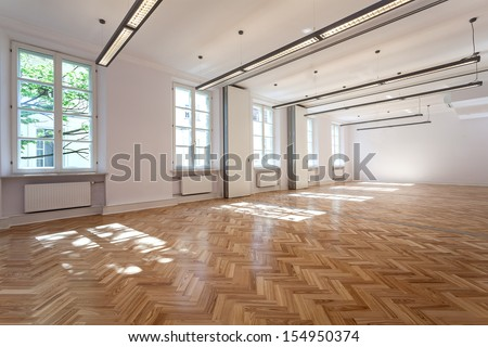 Bright elegant interior for party or banquet - stock photo