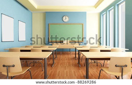 Classroom stock images royalty free images vectors shutterstock Www wooden furniture com