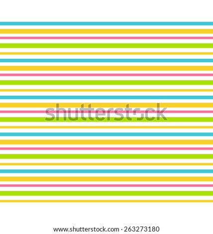 Bright fun abstract lines seamless pattern