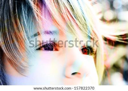bright future - stock photo