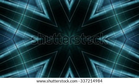 Bright glassy lights symbol background
