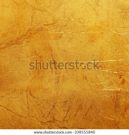 bright golden background texture. - stock photo